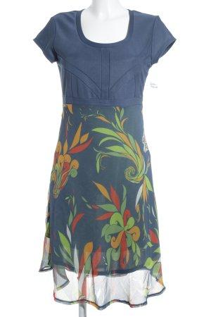 Skunkfunk A-Linien Kleid florales Muster Romantik-Look