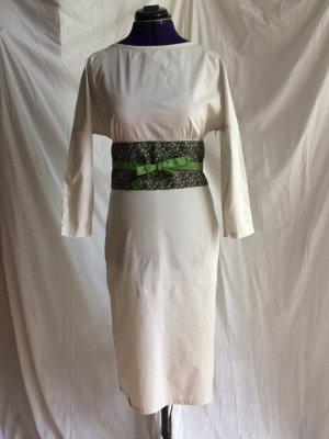 Skunkfunk Etuikleid mit Bindegürtel - Kimono-Stil