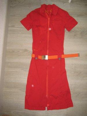 Skunkfunk Robe crayon rouge-orange