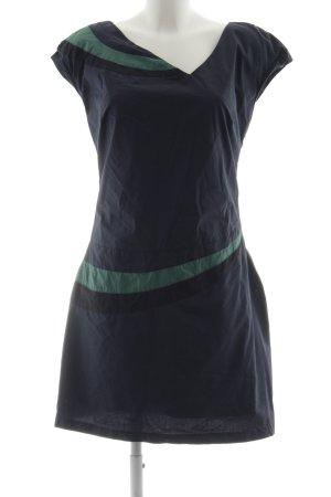 Skunkfunk Kurzarmkleid dunkelblau-kadettblau Casual-Look