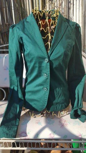 Skunkfunk - leichter taillierter Blazer tolles smaragdgrün
