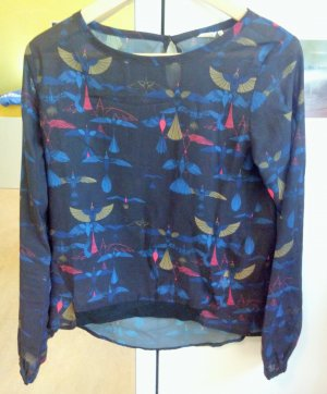 Skunkfunk Shirt/Bluse, langarm, XS, Green Fashion