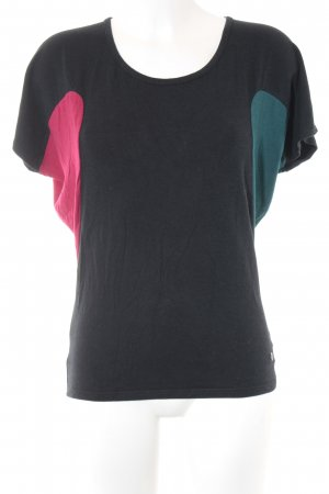 Skunkfunk T-Shirt Colourblocking extravaganter Stil