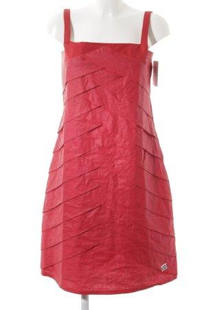 Skunkfunk Trägerkleid rot Elegant