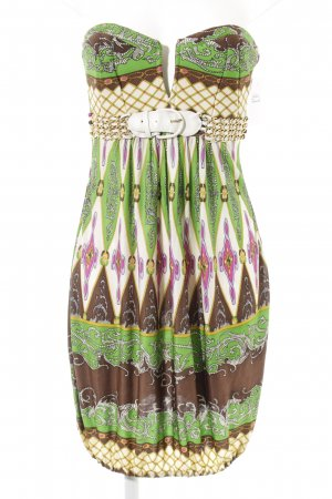 SKY Balloon Dress abstract pattern extravagant style