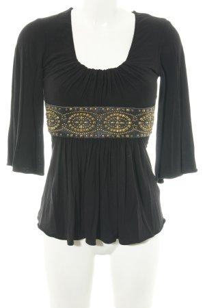 SKY Empire shirt zwart casual uitstraling