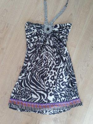 Sky Kleid Elegant mit Muster und Strass