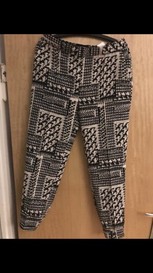 Zara Basic Pantalon à pinces multicolore