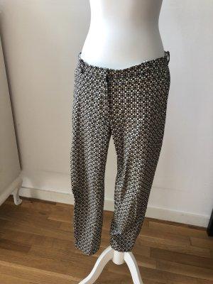 H&M 7/8-broek wit-zwart
