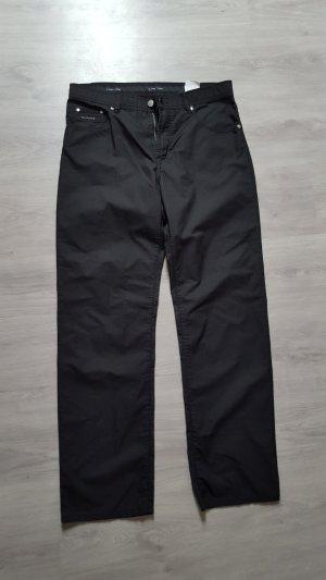 Pantalone da abito nero-argento