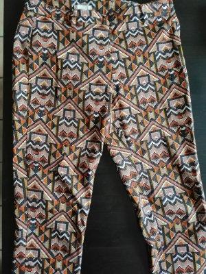 H&M Pantalon orange-rouge