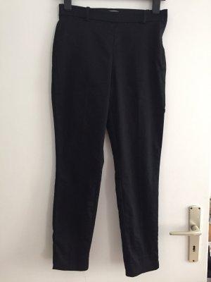 H&M 7/8 Length Trousers black