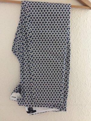 Slacks von H&M, schwarz/Weiß , Gr. 40