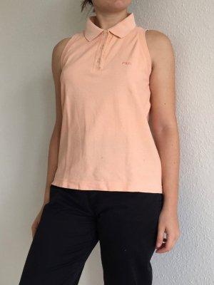 Sleeveless Polo-Shirt von FILA in nude Farbe