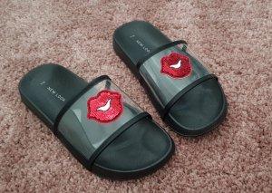 New Look Sandalo da spiaggia nero