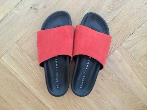 Slides/Pantolette, Orange, 39