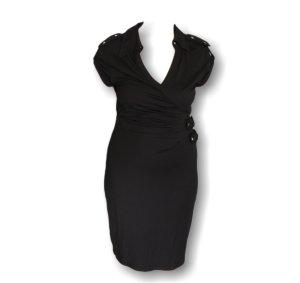 ♥Slim-Fit Abend-Kleid, Damenkleid, schwarz, Größe 38,elegant,neu♥