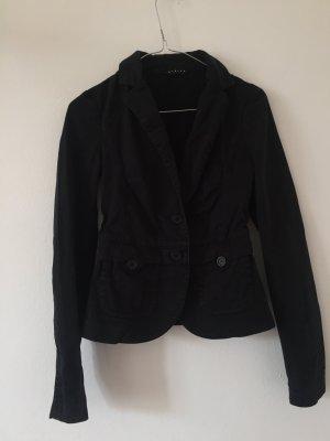 Slim Fit Blazer von Sisley Gr. 34 schwarz