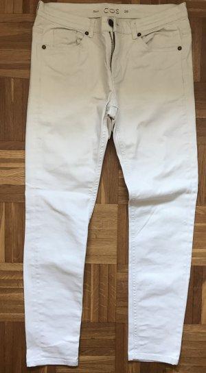 Slim fit COS Jeans beige Größe 29 top Zustand