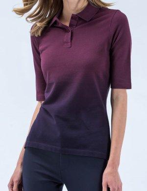 Lacoste Polo shirt braambesrood-bordeaux Katoen
