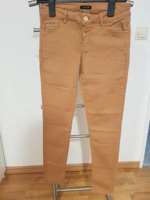 Slim-Fit Hose von Massimo Dutti Farbe Karamell