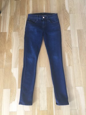 Slim Fit Jeans dark blue von JBrand Groesse 24