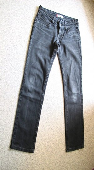 Levi's Slim jeans zwart Katoen