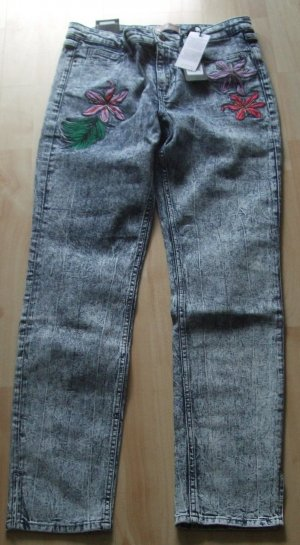 Slim Fit Jeans mit Stickerei von Guess - W30 L29