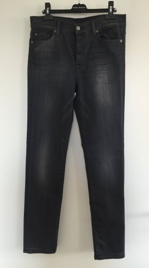 "Slim Fit-Jeans ""Rozie"" in Grau von ""7 For All Mankind"" - W 30 / NEU"
