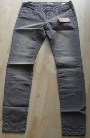 Slim Fit Jeans von Cartoon taupe – Gr. M