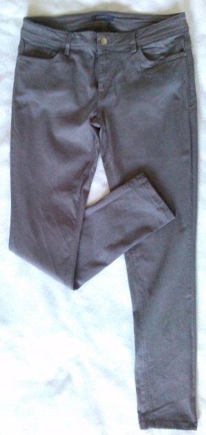 Slim-Fit Jeans von Esprit - taupe - Gr.42 - in Edel-Optik - kaum getragen