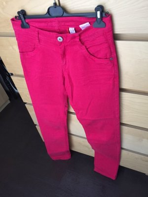 Slim Fit Röhrenjeans sOliver Jeans pink