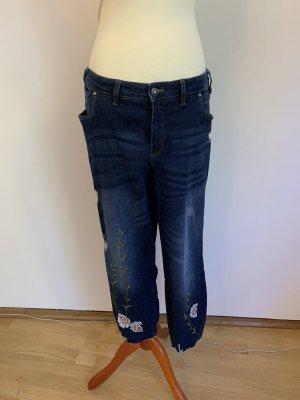 b.p.c. Bonprix Collection Slim Jeans dark blue
