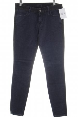 Slim Jeans anthrazit-dunkelblau Jeans-Optik
