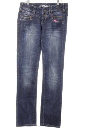 Slim Jeans blau-dunkelblau Casual-Look
