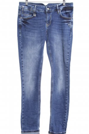 Slim Jeans dunkelblau Casual-Look