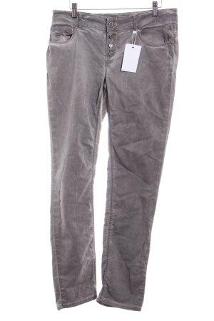 Slim Jeans graubraun Casual-Look