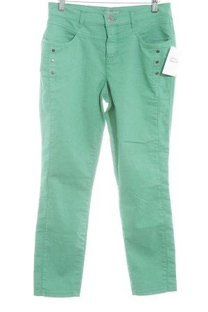 Slim Jeans grün-grasgrün Casual-Look