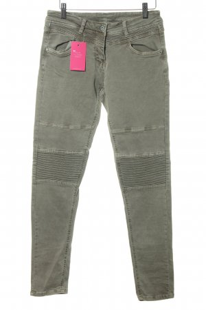 Slim Jeans hellbraun Casual-Look