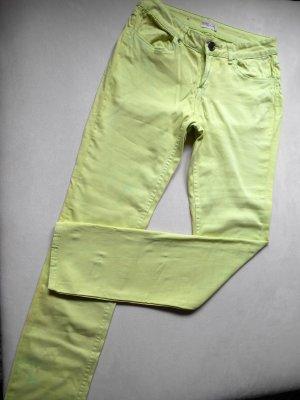 Slim Jeans hellgrün 38 / L30