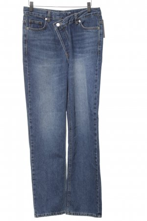 "Slim Jeans ""Love you so much more than yesterday"" blau"