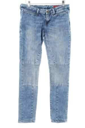 Slim Jeans mehrfarbig Washed-Optik