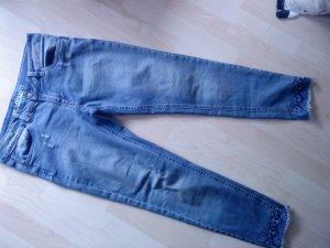 Slim Jeans Stickerei Größe 29 (38)