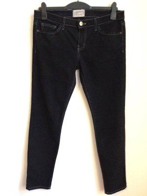 Slim Jeans von Current/ Elliott, The Ankle Skinny OD Black, W30, passt Gr. 40/42