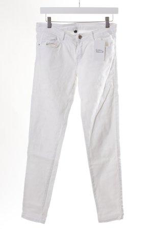 Slim Jeans weiß Casual-Look