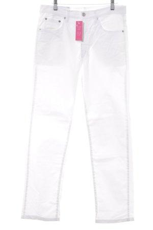 Slim Jeans wollweiß Casual-Look