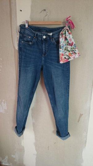 SLIM REGULAR WAIST | High Waist Jeans
