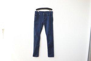 Slim Straight-Fit hüfthohe Jeans