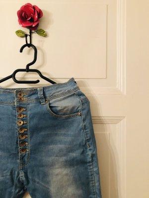 Monday Premium Baggy Jeans azure-blue