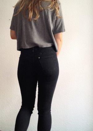 Slimfit Jeans in zweigeteilten Farben!